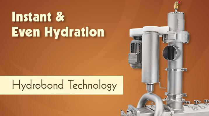 Instant, Even Hydration: Exact Mixing Awarded Patent for Cutting-Edge Hydrobond Technology