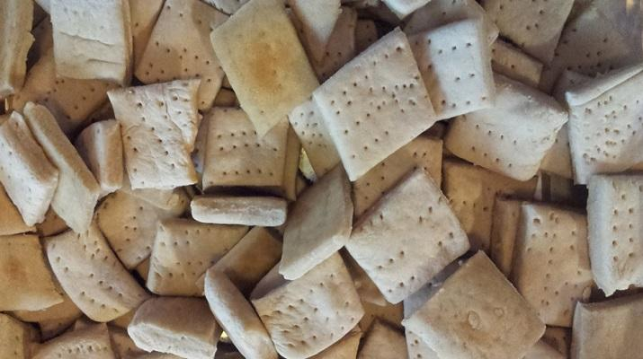 Hardtack: a war biscuit