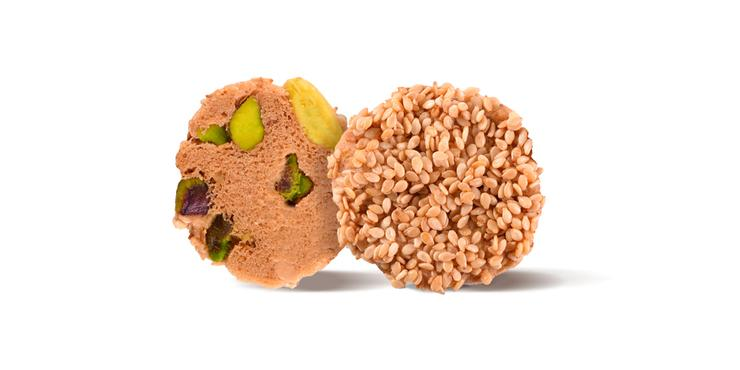 How to make Healthy Barazek Cookies with Sesame and Pistachios