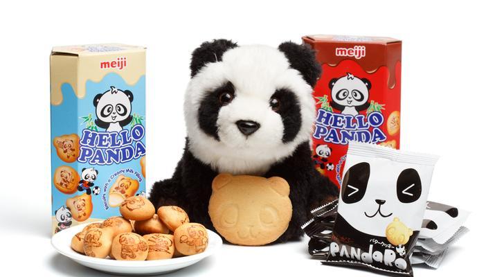 Meiji: Say Hello to These Panda Cookies!