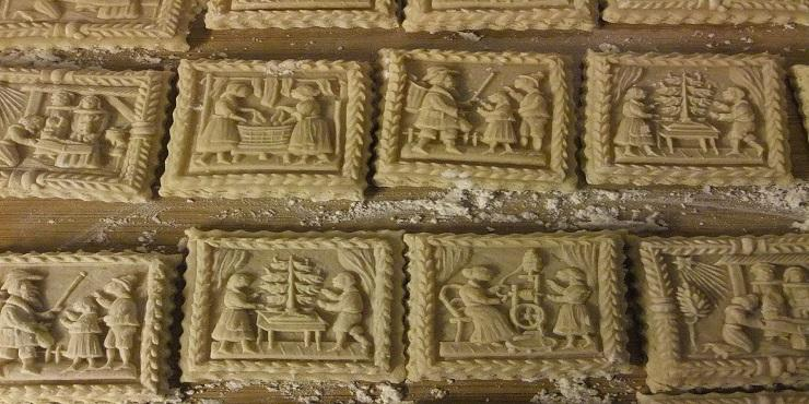 Springerle: traditional Christmas biscuit
