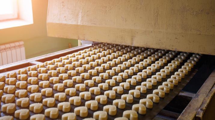 Biscuit Baking Process