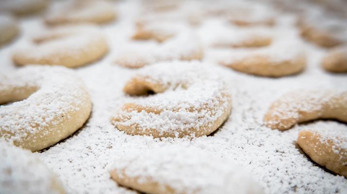 Vanillekipferl: The Austrian Crescent-shaped Biscuits