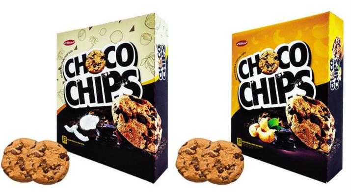 Coconut Chocochip biscuits