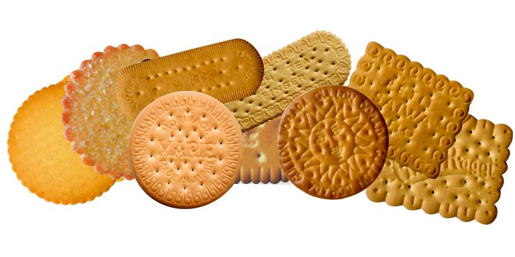 Baking biscuits, Cookies and Crackers by Infrared Radiation