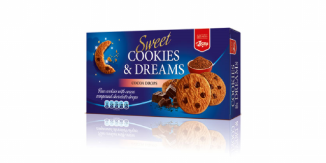Biscuits Cookies & Dreams Cocoa produced by Lion