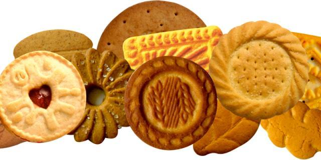 Short dough biscuits