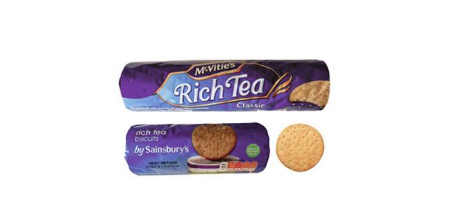 Rich Tea packages