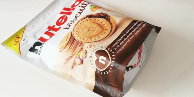 Nutella biscuits packaging