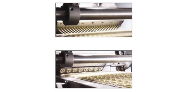 Extrusion: Ropes (above) Traditional Shape (below)