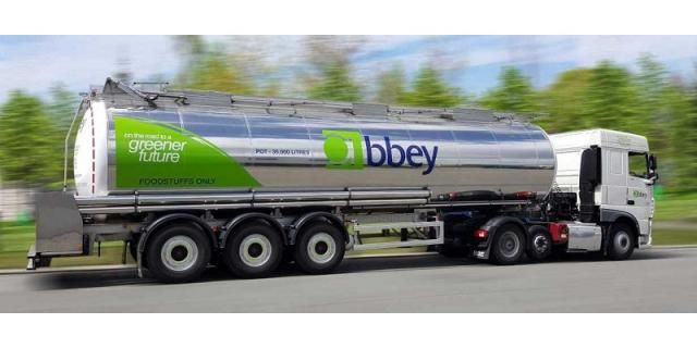 Delivery of liquids by road tanker from Abbey Logistics Group <www.abbeylogisticsgroup.com>