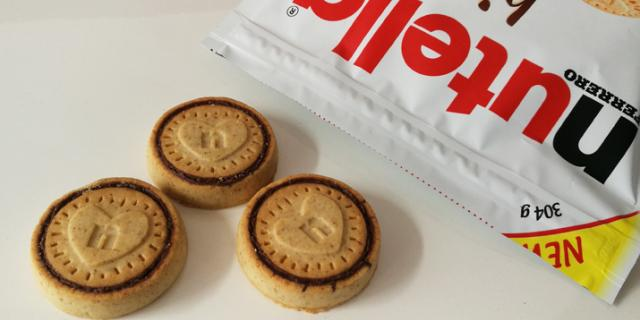 Nutella biscuits nutritional values