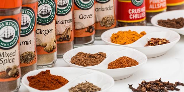 Varius of spices