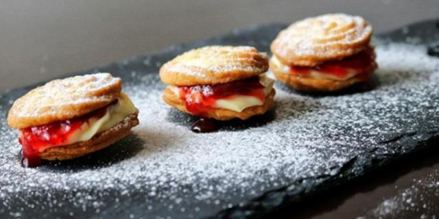 Viennese Whirl Biscuits