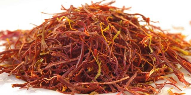 History of saffron and its use in baking