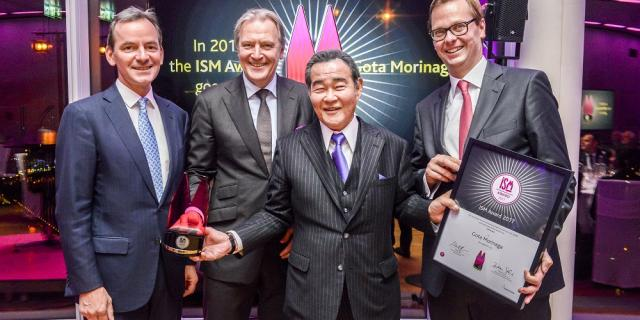 Gota Morinaga is the prize winner of the ISM Award 2017