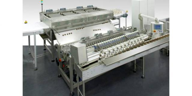 Cooling and handling in biscuit production