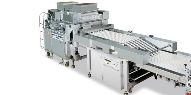 Extruding stage in biscuits production