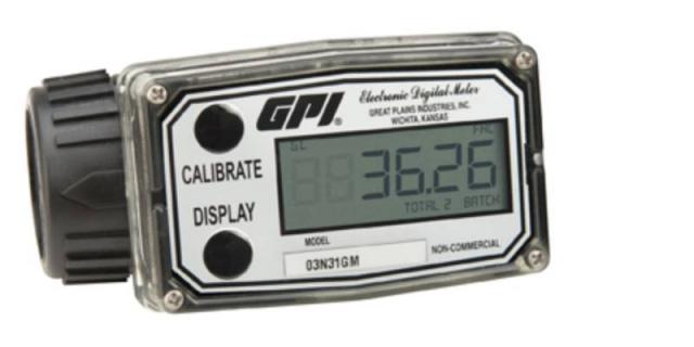 Oven inspection - Gass meter
