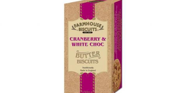 Luxury Cranberry & White Choc