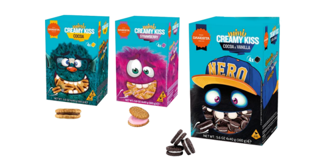 Mini Creamy Kiss – Crazy Monsters