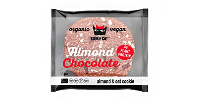 Kookie cat Protein cookie with Dark Chocolate & Almonds