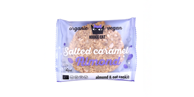 Smart Organic Kookie Cat Salted Caramel and Almond