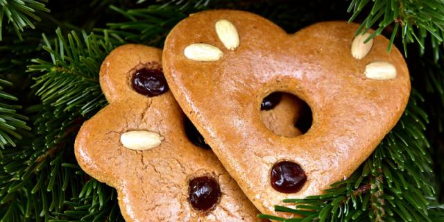 Lebenkuchen Cookies