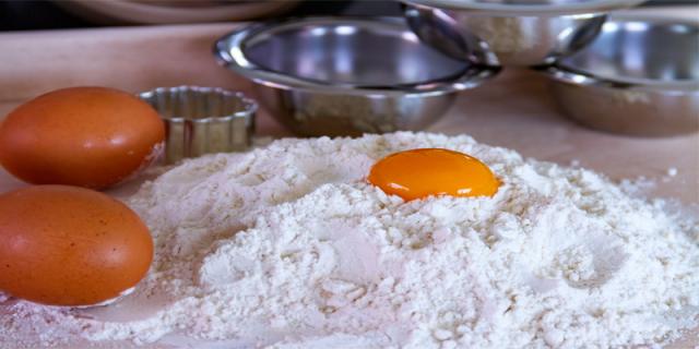biscuit baking process ingredients