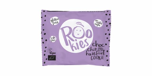 Rookies chocolate and hazelnuts