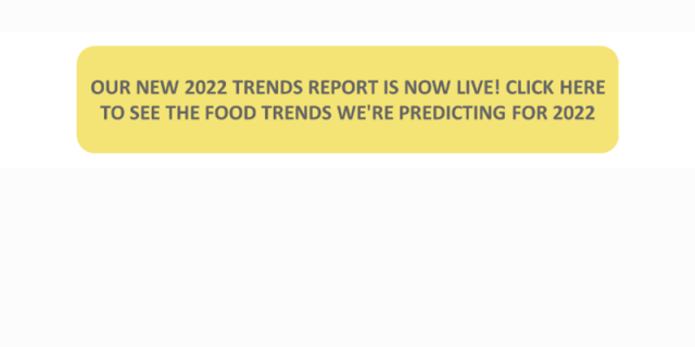 flavours trends 2021