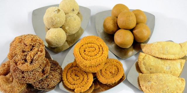 Indian food diwali