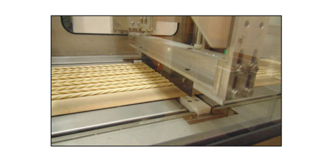 Extrusion: Braided Ropes cut by Guillotine Cutter