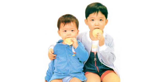 Infant rusk consumption for children