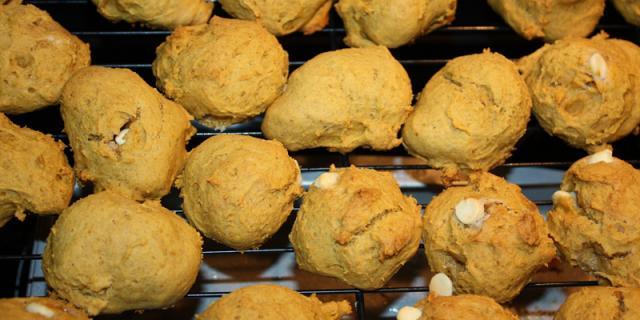 poompkin cookies