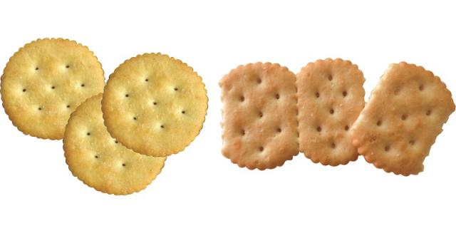 Ritz type crackers