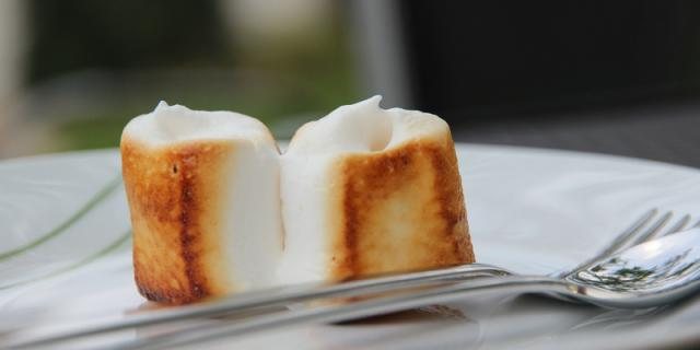 Baked marshmallows