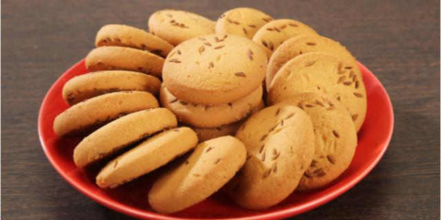 Salty Cumin Cookies or Indian Jeera Cookies