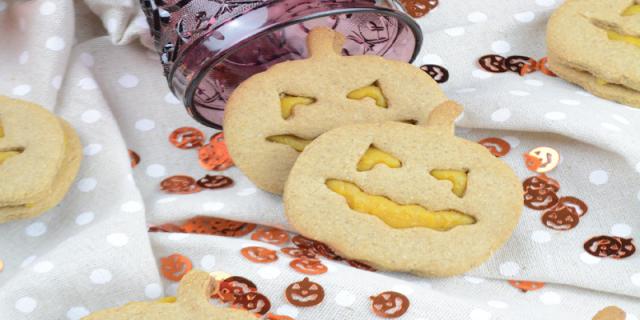 Haloween designed biscuits