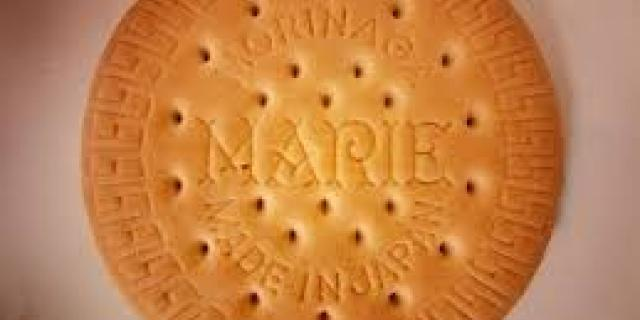 Marie Biscuits: inspired by a royal wedding