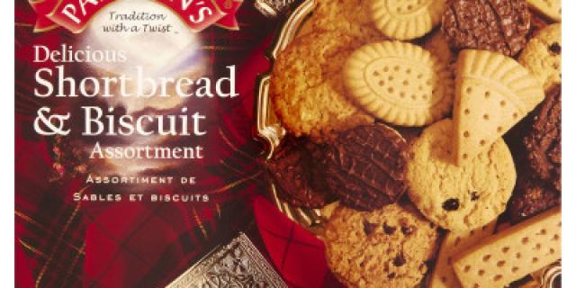 Paterson's Shortbread & Biscuit Assortment