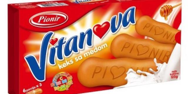 Vitanova biscuits with honey