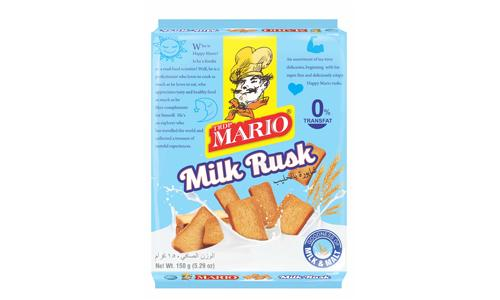 Biscuits Milk Rusk produced by TRDP Mario