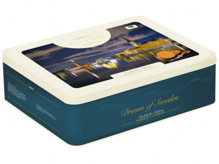 """Biscuits Farmer's Cookies """"Stockholm Edition produced by Dream of Sweden Swedish Cookies"""