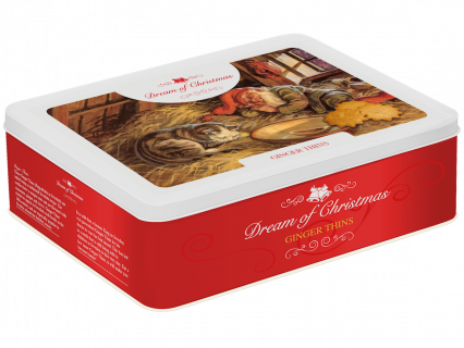 Biscuits Dream of Christmas - Ginger Thins produced by Dream of Sweden Swedish Cookies
