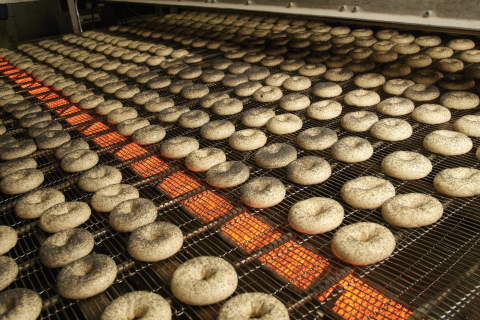 Radiant Heating Bagel Dryer