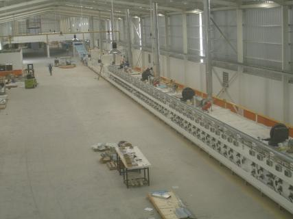 Rotary cutter line