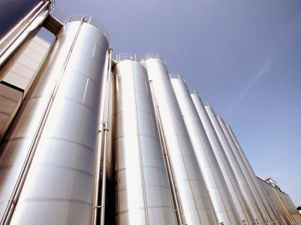 Globosilo -- outdoor silo in stainless steel