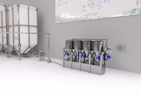 Trimix -- microingredients station