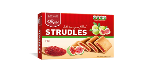 Biscuits Strudles Fig produced by Lion